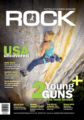 rock magazine cover January 2012