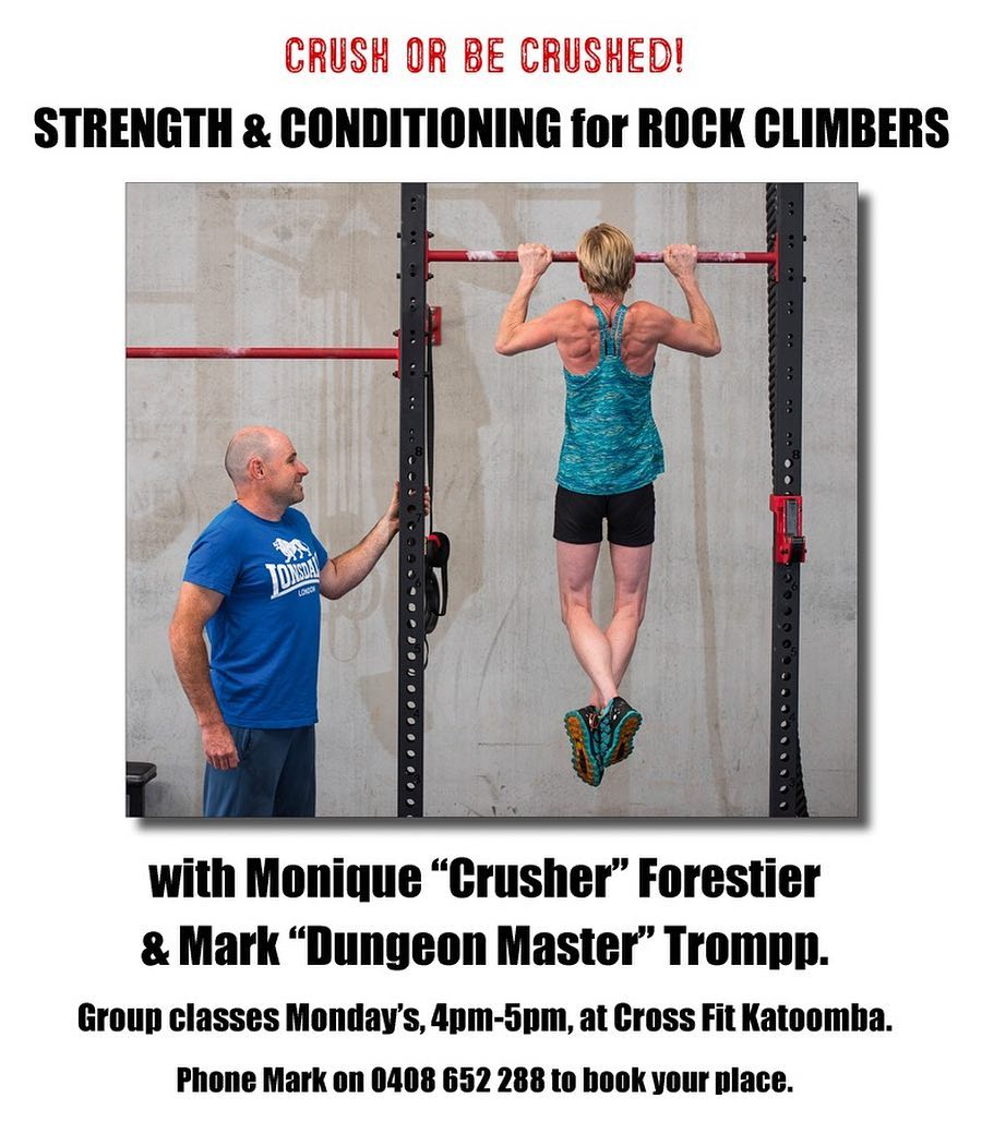 Strength & conditioning for rock climbers